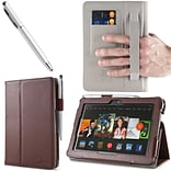 Brown Leather Case F/Kindle Fire HDX 7