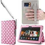 DalPink Leather Case F/Kindle Fire HDX 7