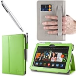 Green Leather Case F/Kindle Fire HDX 7
