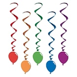 Beistle 3 3 Balloon Whirls; 15/Pack