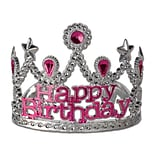 Beistle Plastic Happy Birthday Tiara