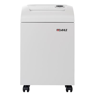 Dahle CleanTEC® 41214 Paper Shredder with Fine Dust Filter, Security Level P-4, 9 Sheet Capacity