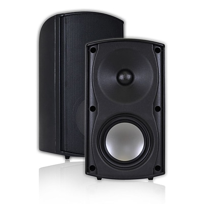 OSD Audio® AP490 100 W 4 Indoor/Outdoor Patio Speaker, Black