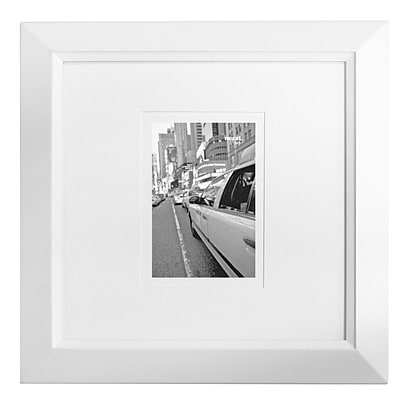 Nexxt PN00226-6FF White Wood 13.5 x 13.5 Picture Frame