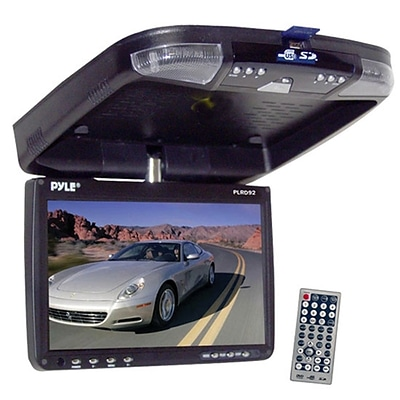 Pyle® 9 Flip Down Roof Mount Monitor and Multimedia Disc Player