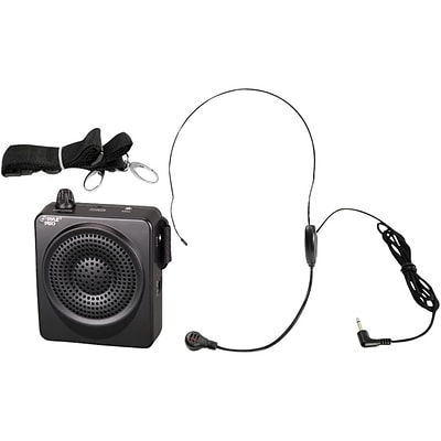 Pyle® PWMA50B 50 W Portable; Waist-Band Portable Public Address System