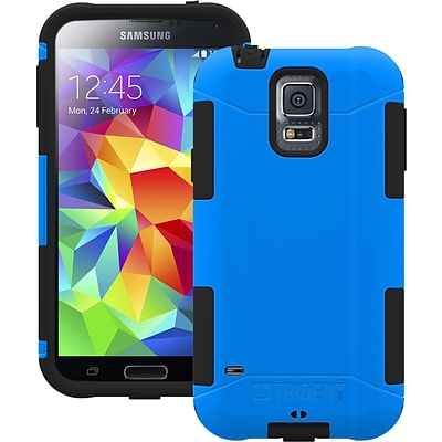 Trident™ Aegis Case For Samsung Galaxy S5; Blue