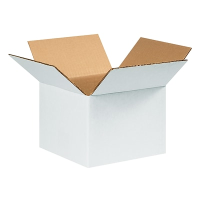 6x6x4 Corrugated Shipping Box, 200#/ECT, 25/Bundle (664W)