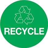 2x3 Recycle Circle Inventory Label