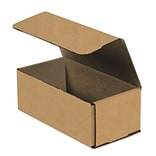 Partners Brand Corrugated Mailers, 8 x 4 x 3, Kraft, 50/Bundle (M843K)