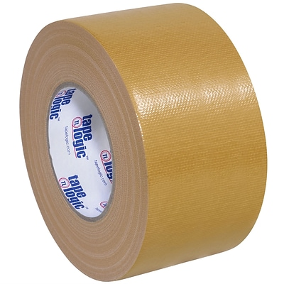 Tape Logic™ 10 mil Duct Tape, 3 x 60 yds, Beige, 16/Pack