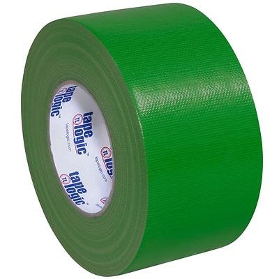 Tape Logic™ 10 mil Duct Tape, 3 x 60 yds, Green, 16/Pack