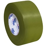 Tape Logic™ 10 mil Duct Tape, 3 x 60 yds, Olive Green, 3/Pack