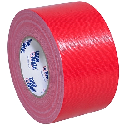 Tape Logic™ 10 mil Duct Tape, 3 x 60 yds, Red, 3/Pack