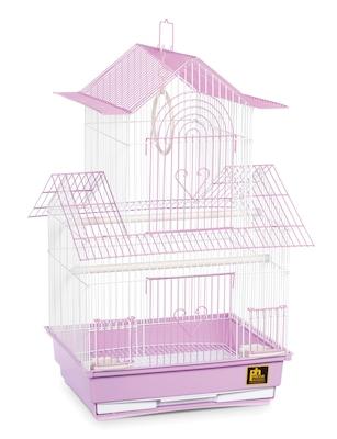 Prevue Hendryx Shanghai Parakeet Bird Cage; Lilac