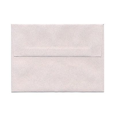 JAM Paper® A6 Invitation Envelopes, 4.75 x 6.5, Rose Quartz Pink Recycled, 25/pack (CPPT663)
