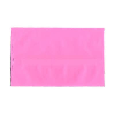 JAM Paper® A10 Invitation Envelopes, 6 x 9.5, Brite Hue Ultra Pink, 1000/carton (96292B)