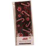JAM Paper® Christmas Holiday Foil Tissue Paper, Merry Christmas Silver, 3/pack (11724296)