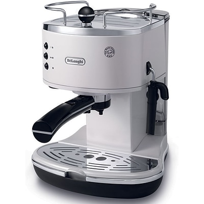 DeLonghi Icona ECO310 15 Bar Pump Driven Espresso/Cappuccino Maker; White