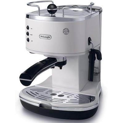 Delonghi Coffee Maker Eco310 : DeLonghi White Espresso/Cappuccino Maker Quill.com