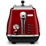 DeLonghi Red Icona 2 Slice Toaster
