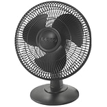 Lasko® Black 12 3-Speed Table Fan