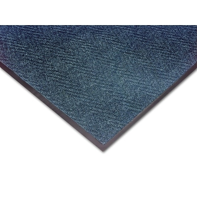 NoTrax® Akro® Chevron Fiber Best Entrance Floor Mat, 3 x 5, Slate Blue