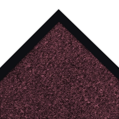 NoTrax® Akro® Sabre™ Decalon® Fiber Better Entrance Floor Mat, 4 x 6, Burgundy