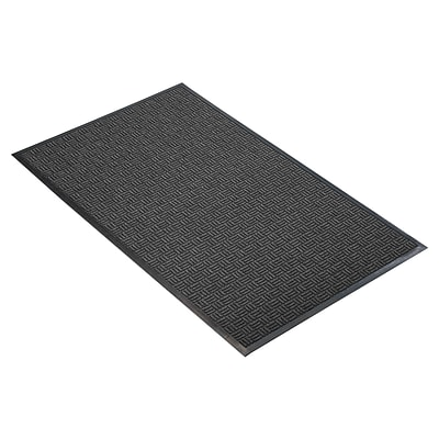 NoTrax® Portrait™ Tufted Polypropylene Yarn Best Entrance Floor Mat, 3 x 4, Charcoal
