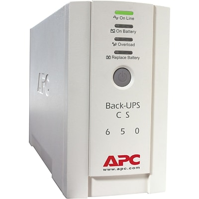 APC® Back-UPS CS Series Standby UPS For International Use; 400 W