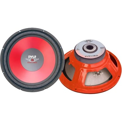 Pyle® PLW15RD 15 Cone High Performance Woofer; Red