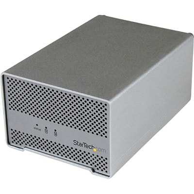 Startech Dual Bay 2.5 ThunderBolt HDD Enclosure With Cooling Fan