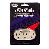 Shaxon 3 AC Power Adapter With Nightlight