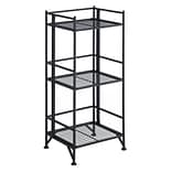 Xtra Storage 3-Tier Folding Metal Shelf