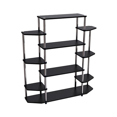 Convenience Concepts 51.13 Wood & Steel Bookcase