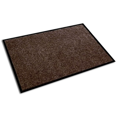 Doortex Plush Indoor Entrance Mat, 36 x 24 Walnut (ECOP2436WA )