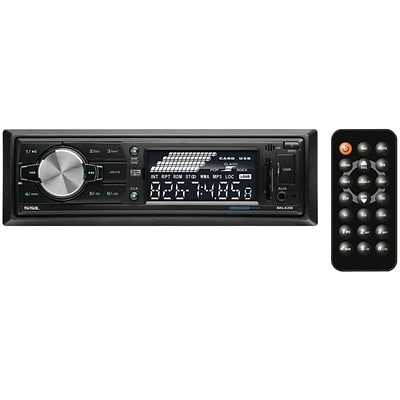 SSL ML42B Single DIN In-Dash Mechless Digital Media AM/FM Receiver W/Bluetooth/USB & SD Card Ports