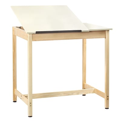 SHAIN Drafting Table 39.75H x 42W x 30D Solid Maple