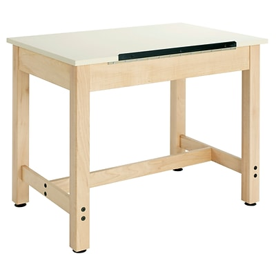SHAIN Art-Drafting Table 30H x 36W x 24D Solid maple