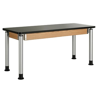 DWI Science Table 27H x 60W x 24D Laminate Plastic Laminate Top