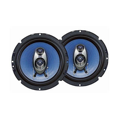 Pyle® PL63BL 6.5 3 Way Speakers; Blue