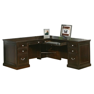 Kathy Ireland Home by Martin Fulton Collection Wood Executive Desk