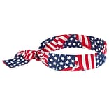 Stars & Stripes Tie Closure Cooling Bandana