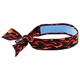 Flames Bandana With Cooling Towel