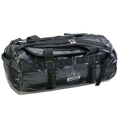 Ergodyne® Arsenal® Water Resistant Duffel Bag, Black, Large