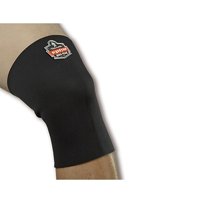 Ergodyne® ProFlex® Single-Layer Neoprene Knee Sleeve, Black, 2XL