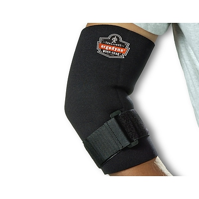 Ergodyne ProFlex 655 Neoprene Elbow Sleeve With Strap, XL (16585)