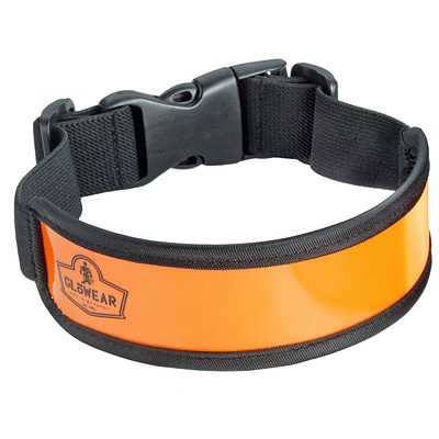 Ergodyne® GloWear® 8003 Hi-Visibility Arm/Leg Band, Orange, One Size, 12/Pack