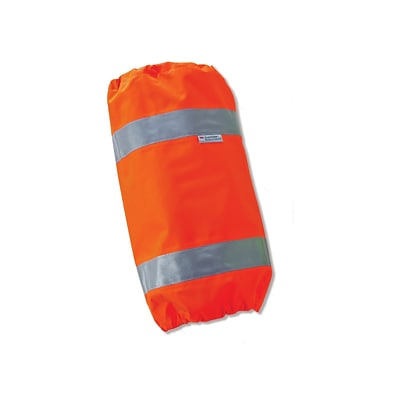 Ergodyne® GloWear® 8008 Hi-Visibility Leg Gaiters, Orange, One Size, 6/Pack