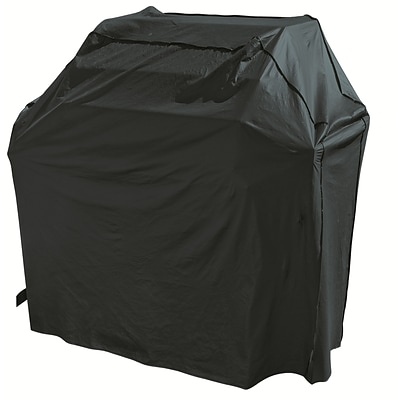 Mr. Bar-B-Q® Backyard Basics™ Grill Cover; Black, Small